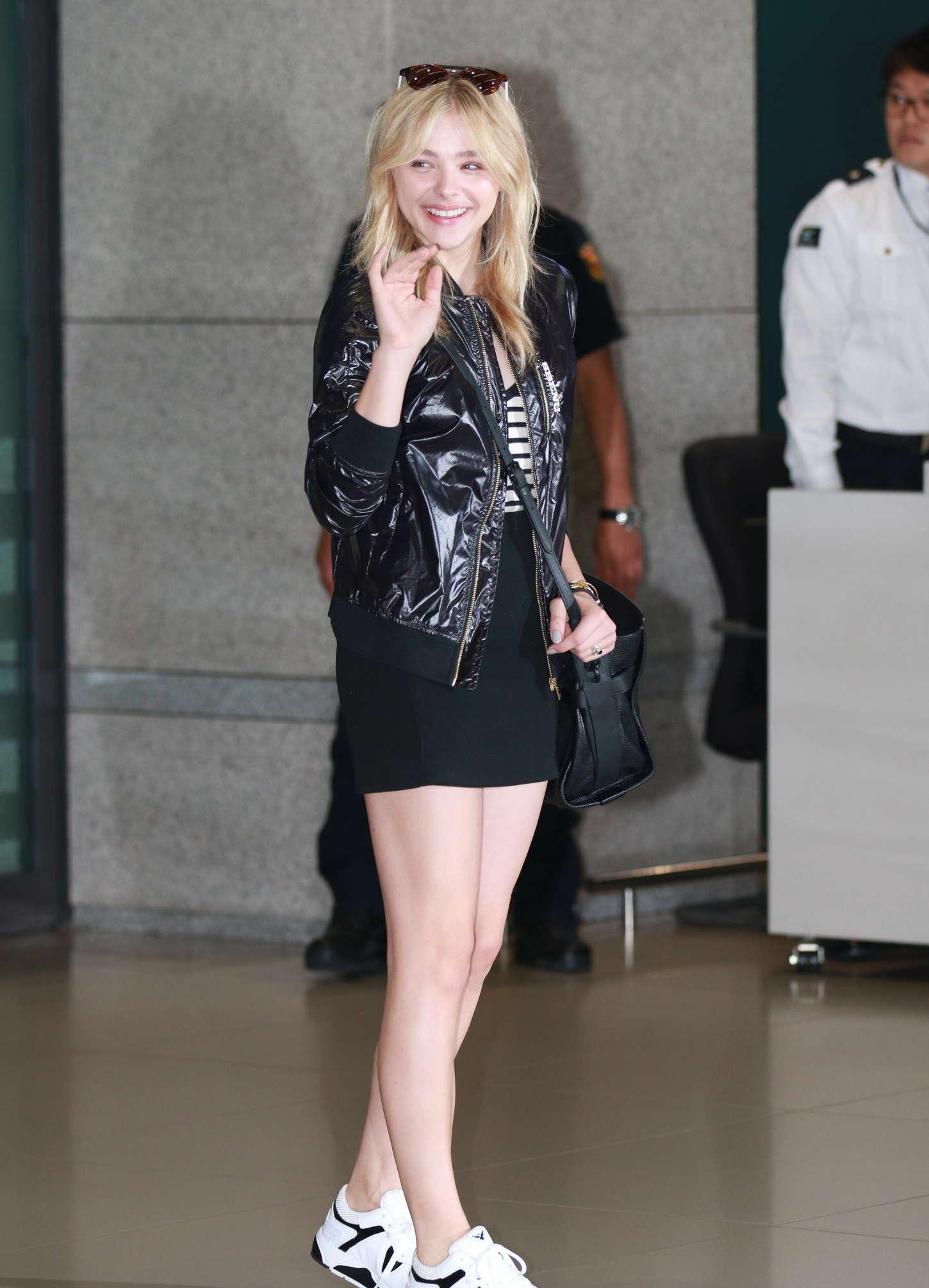 Chloe Moretz Shopping In Seoul Gotceleb