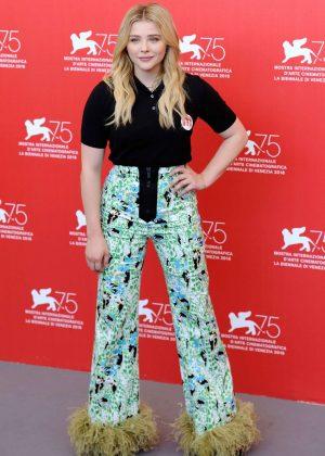 Chloe Moretz - Suspiria Photocall - 2018 Venice Film Festival