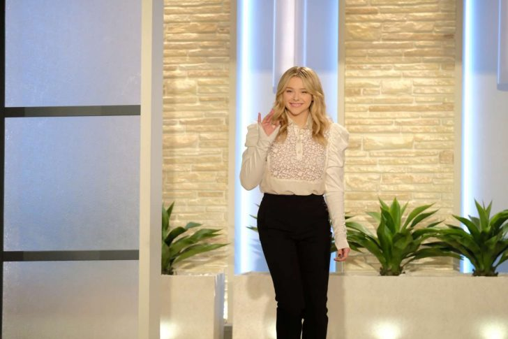 Chloe Moretz - The Talk Show in Studio City