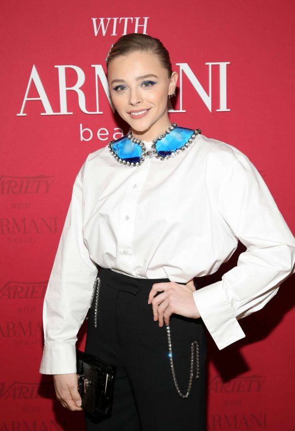 Chloe Moretz - Variety x Armani Makeup Artistry Dinner in Los Angeles