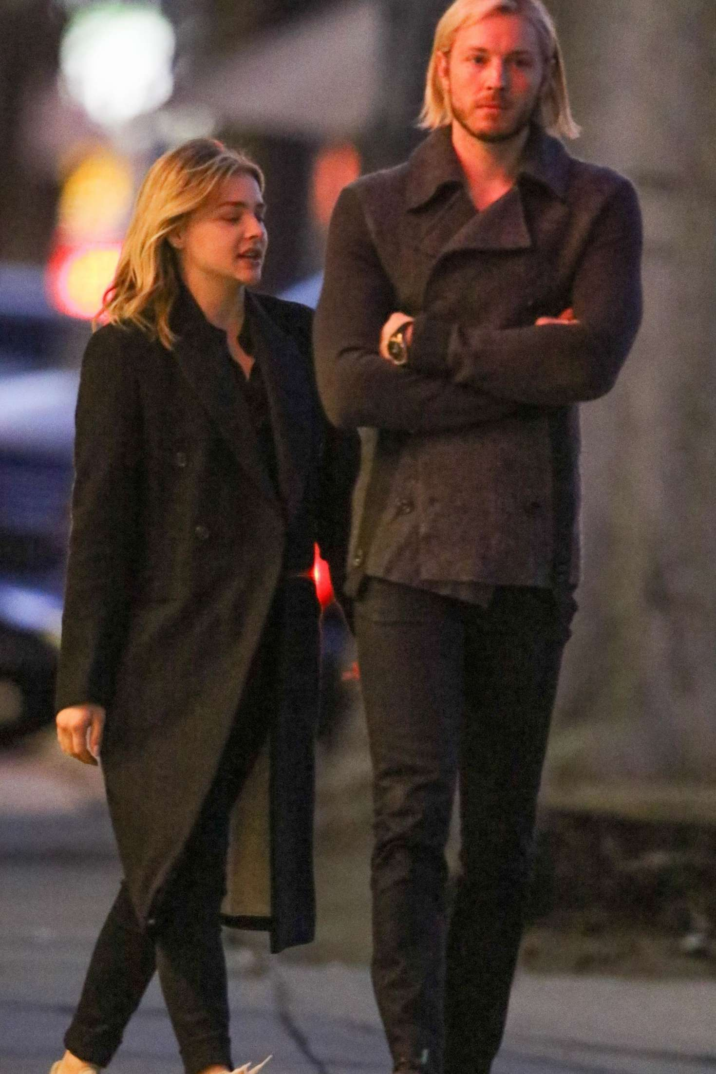 Chloe Moretz with her brother out in Studio City