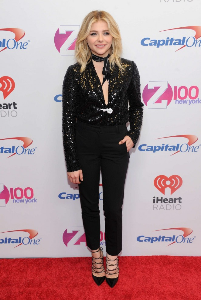 Chloe Moretz - Z100's Jingle Ball 2015 in NYC