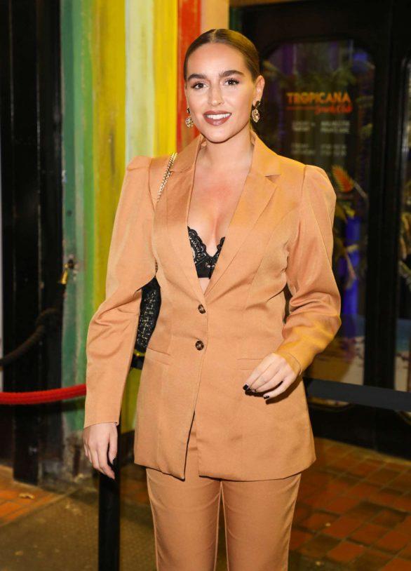 Chloe Ross - Gabby Allen's SportFX Clothing Line Launch in London