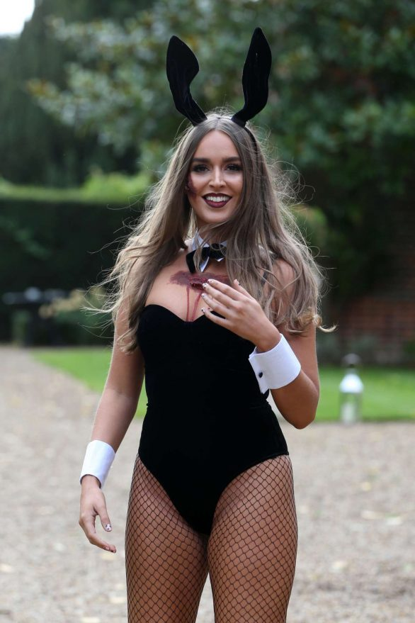 Chloe Ross - 'The Only Way is Essex' Halloween Special TV Show Filming in Essex