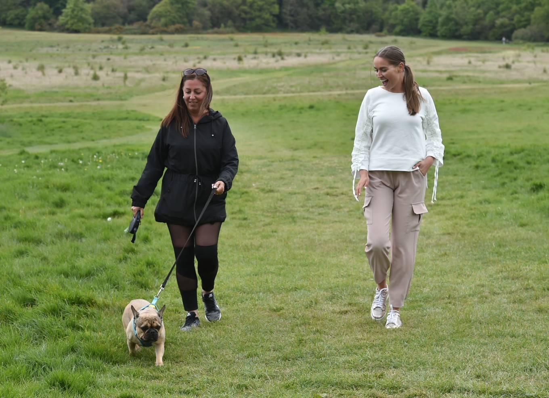 Chloe Ross 2020 : Chloe Ross – Walk her dog in Essex-02