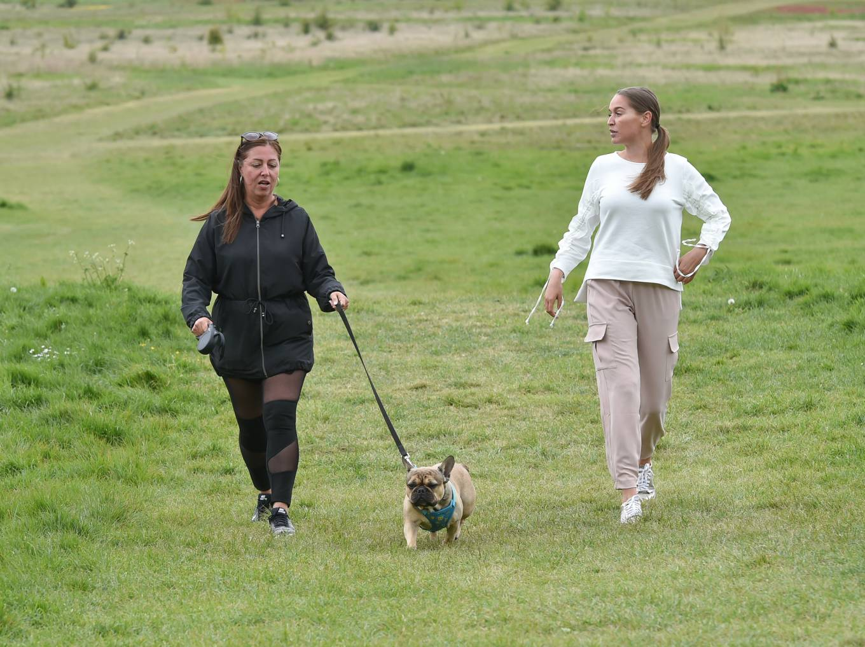 Chloe Ross 2020 : Chloe Ross – Walk her dog in Essex-05