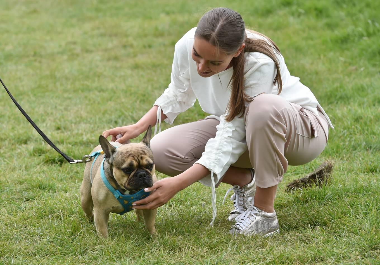 Chloe Ross 2020 : Chloe Ross – Walk her dog in Essex-06