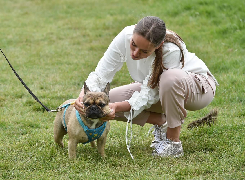Chloe Ross 2020 : Chloe Ross – Walk her dog in Essex-08