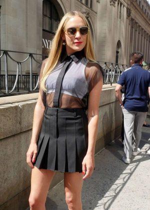 Chloe Sevigny at New York Fashion Week 2016 in NY