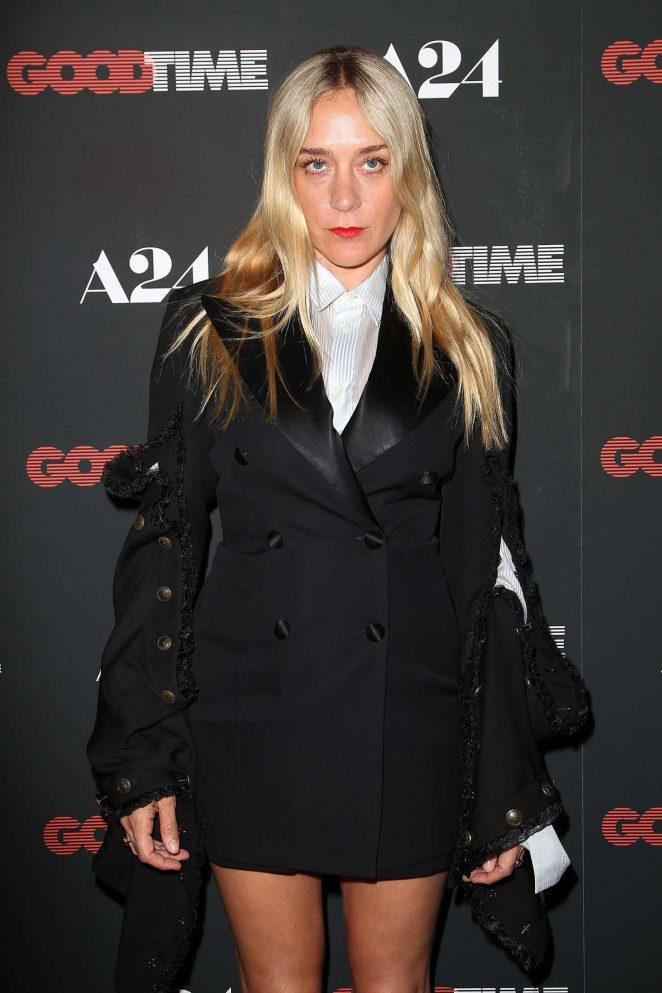 Chloe Sevigny - 'Good Time' Premiere in NYC
