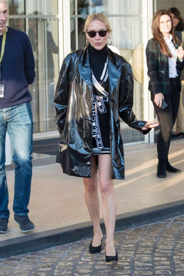 Chloe Sevigny - Leaving her hotel in Cannes