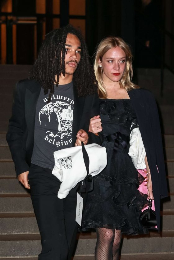 Chloe Sevigny - Leaving Marc Jacobs Reception Party in NYC