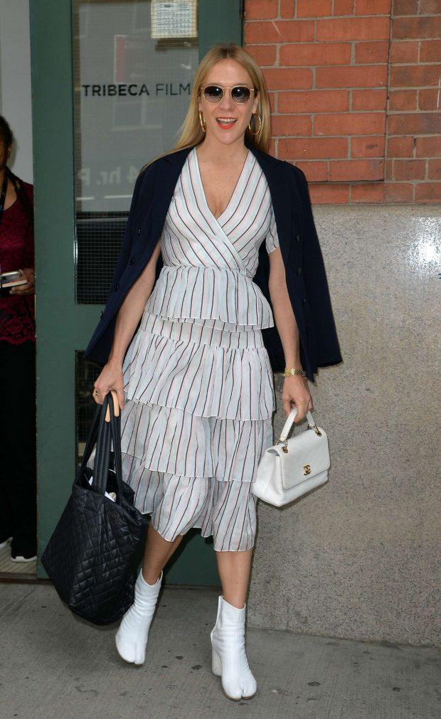 Chloe Sevigny - Leaving the Tribeca Film Festival Luncheon in NYC