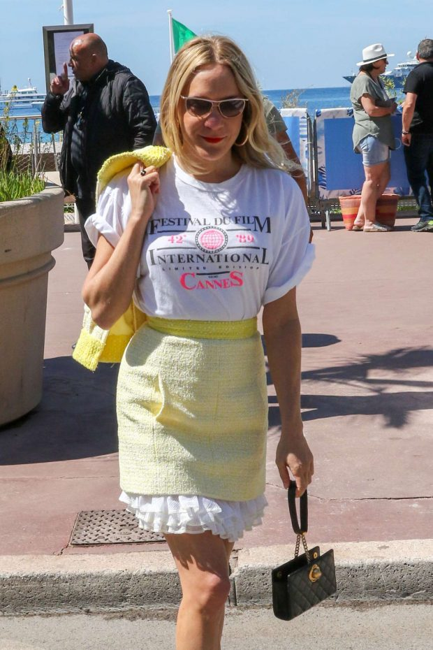 Chloe Sevigny - On the Croisette in Cannes