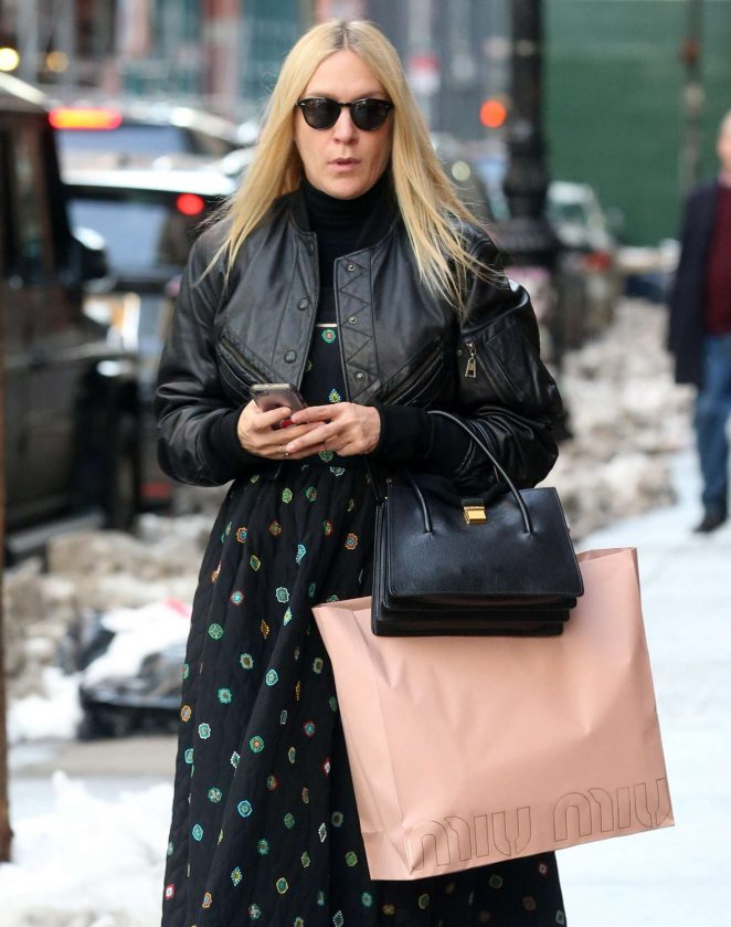 Chloe Sevigny out shopping in New York City