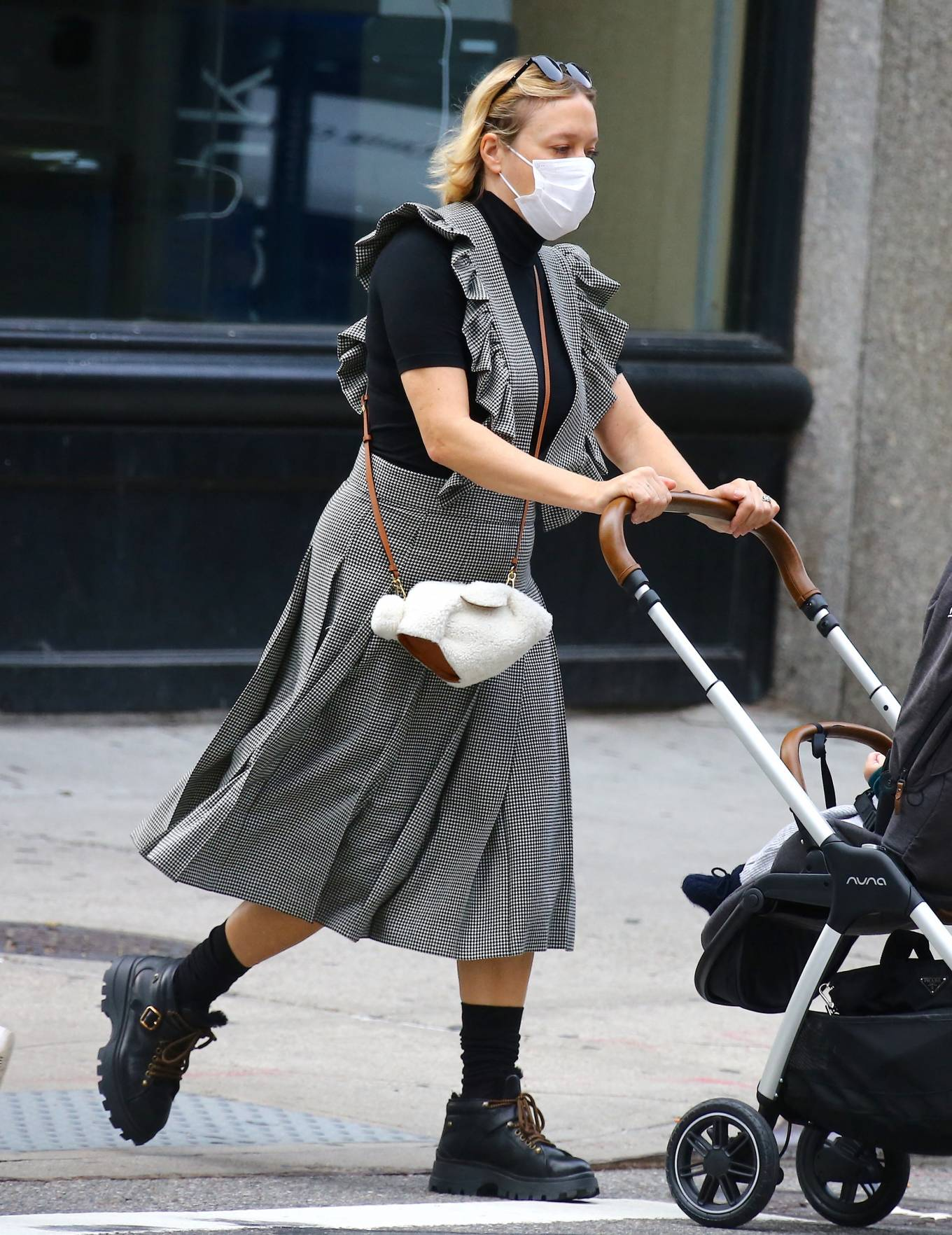 Chloe Sevigny - Out with her baby boy Vanja on Broadway in Noho