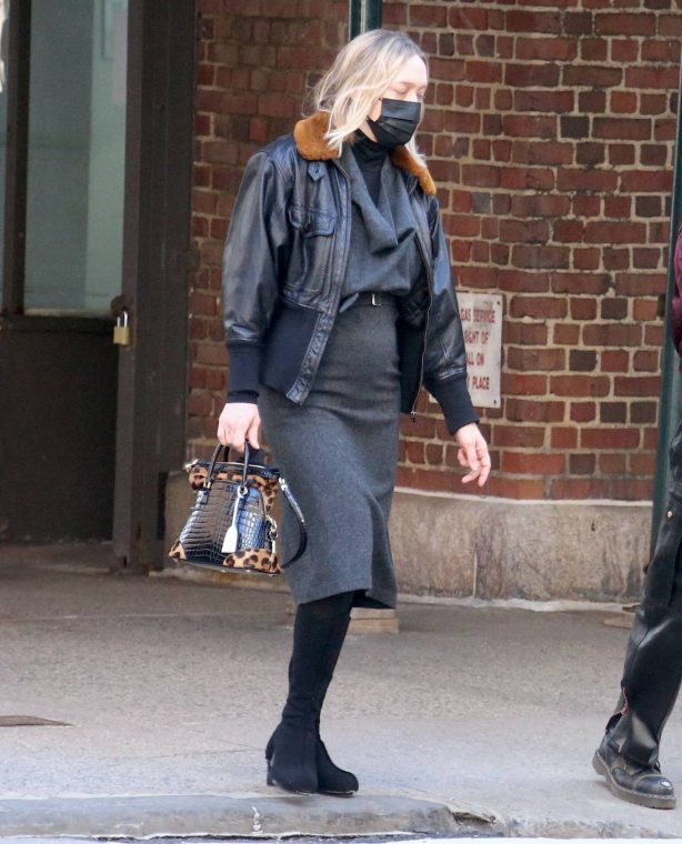 Chloe Sevigny - Seen with her family in New York