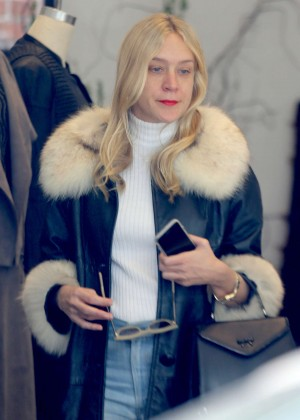 Chloe Sevigny Shopping in Venice