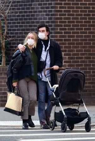 Chloe Sevigny - With her boyfriend Sinisa Mackovic in Manhattan's West Village
