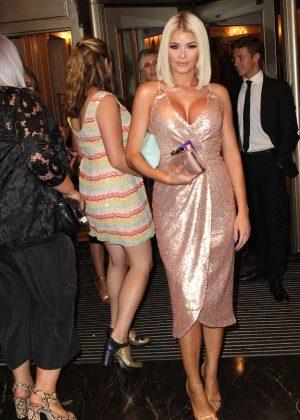 Chloe Sims - 2016 TV Choice Awards in London