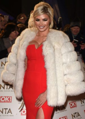 Chloe Sims - 2017 National Television Awards in London