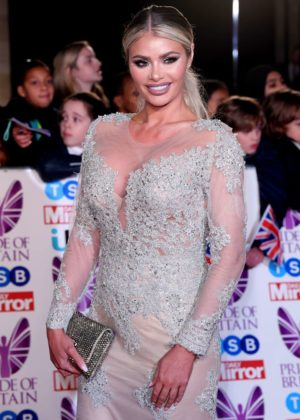 Chloe Sims - 2017 Pride Of Britain Awards in London