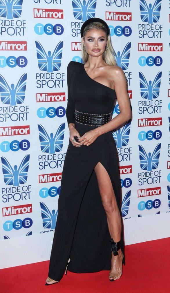 Chloe Sims - 2019 Daily Mirror Pride of Sport Awards in London