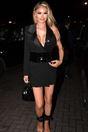 Chloe Sims - Arrives at Vas J. Morgan Birthday Party at Laylow in London