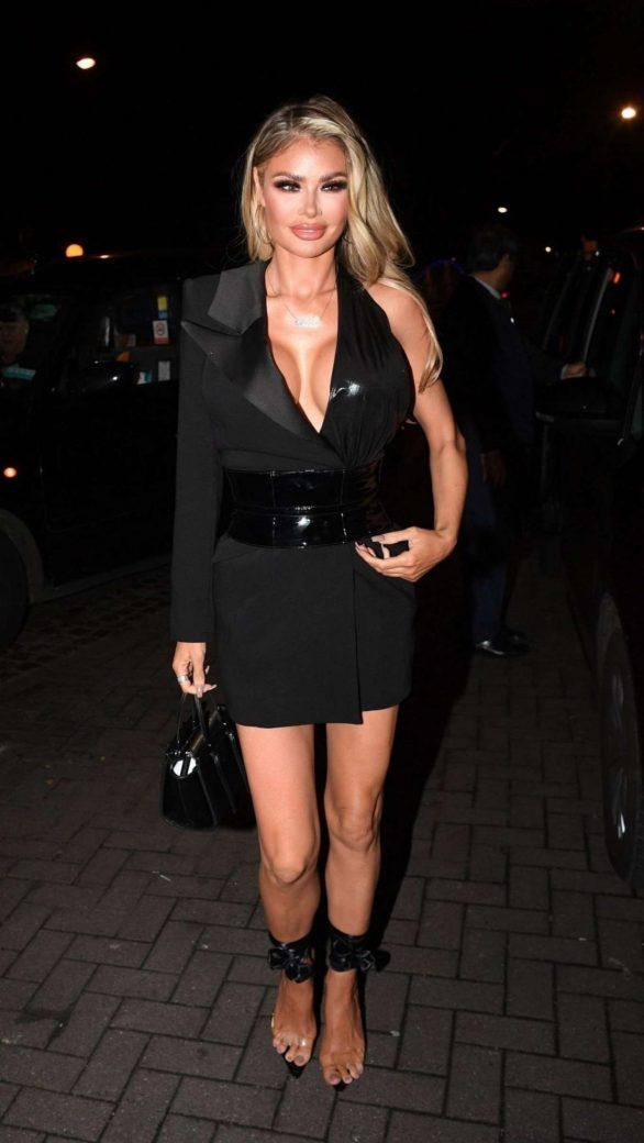 Chloe Sims - Arrives at Vas J. Morgan Birthday Party at Laylow in London