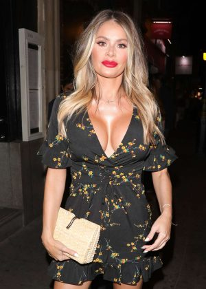 Chloe Sims - Eyal Booker 23rd Birthday Party in Soho