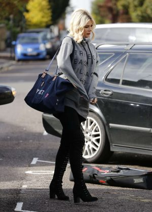 Chloe Sims - Films Scenes for TOWIE in Essex