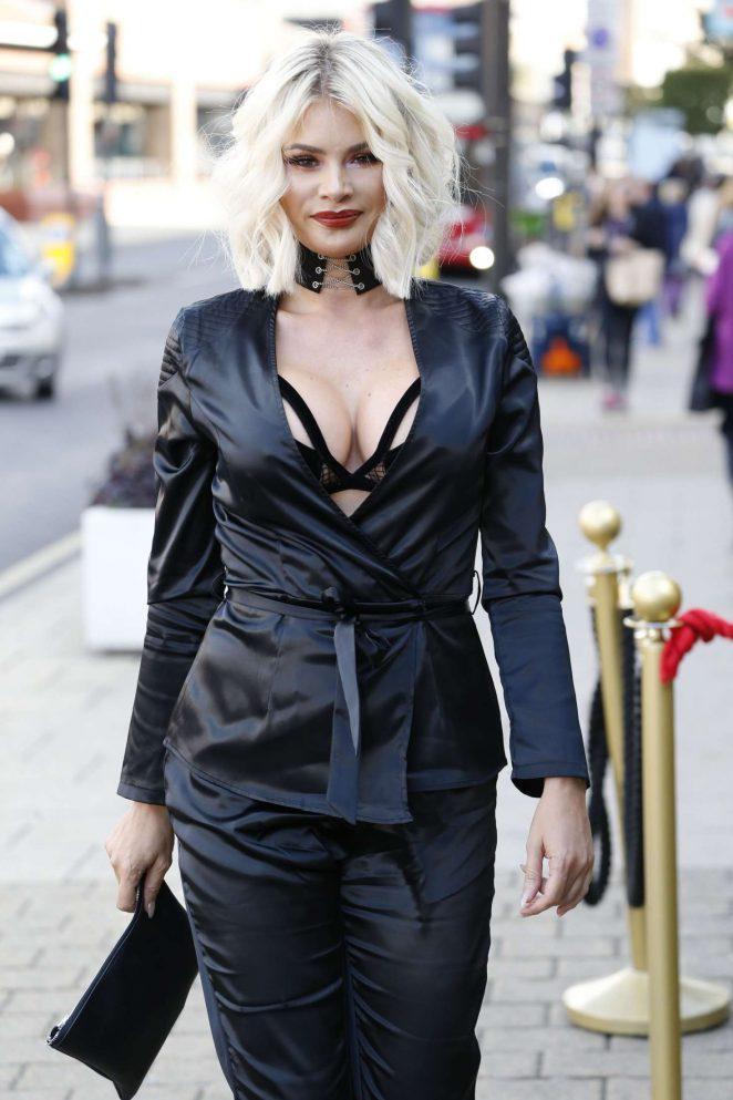 Chloe Sims - Heading To Luna Club in Essex