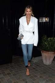 Chloe Sims - Leaving Chiltern Firehouse in London