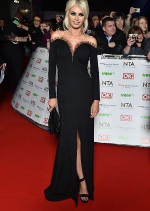 Chloe Sims - National Television Awards 2016 in London