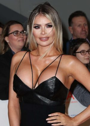 Chloe Sims - National Television Awards 2018 in London