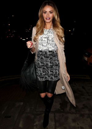 Chloe Sims - Night Out in London