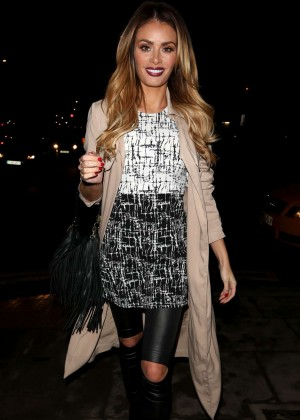 Chloe Sims Night Out in London