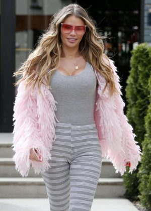 Chloe Sims on 'The Only Way Is Essex' set in Essex