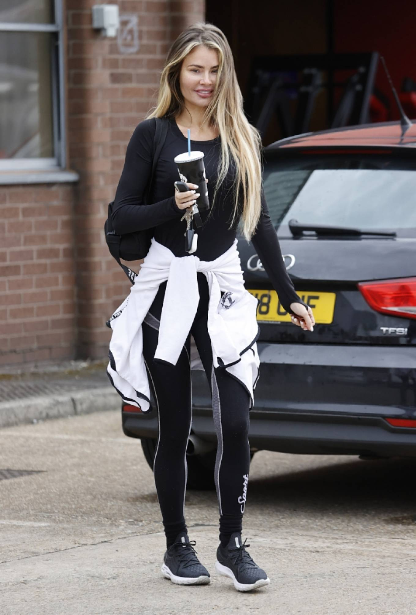 Chloe Sims 2021 : Chloe Sims – Seen make up free after a workout in Essex-01