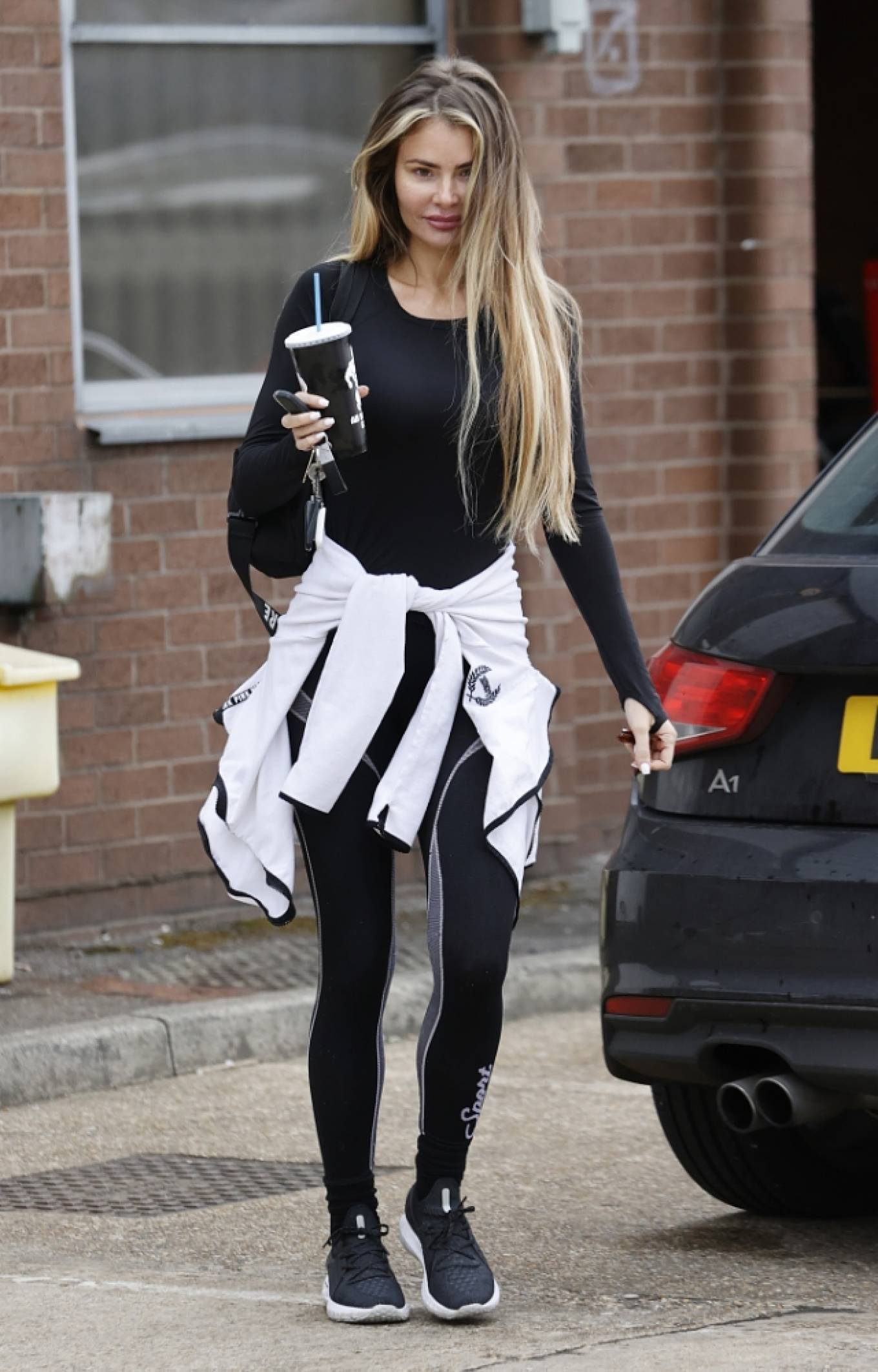 Chloe Sims 2021 : Chloe Sims – Seen make up free after a workout in Essex-11