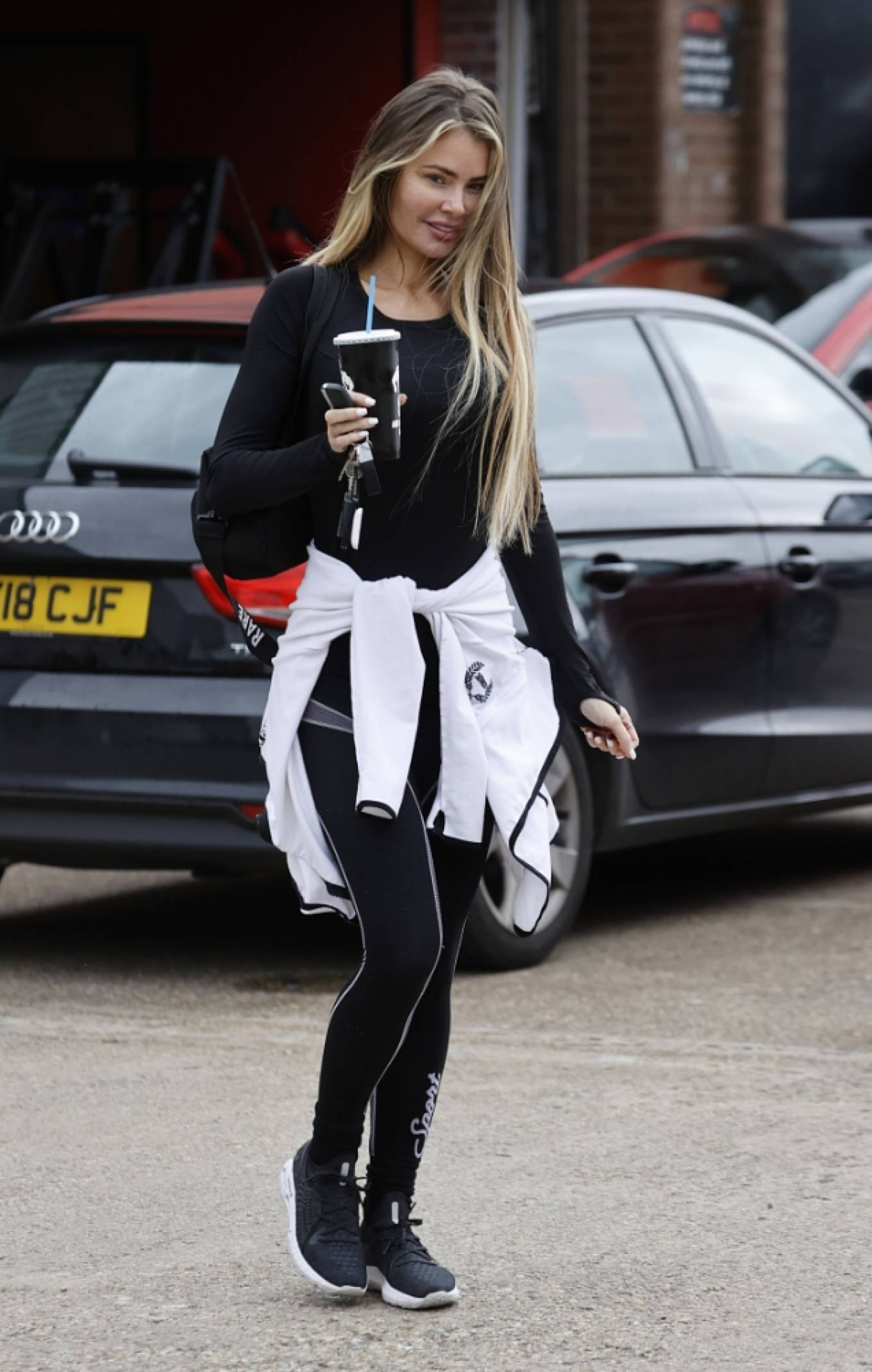 Chloe Sims 2021 : Chloe Sims – Seen make up free after a workout in Essex-12