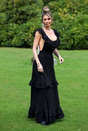 Chloe Sims - Set of The Only Way is Essex TV show in London