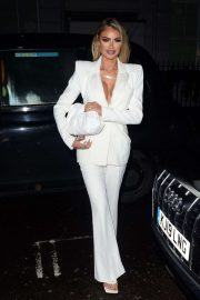 Chloe Sims - Spotted at Bagatelle in London