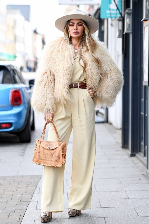 Chloe Sims - The Only Way is Essex TV Show filming in Braintree
