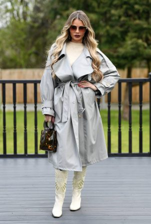 Chloe Sims - TOWiE TV Show filming in Essex