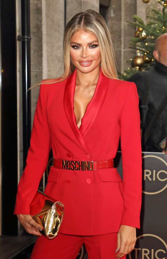 Chloe Sims - TRIC Christmas Charity Lunch 2019 in London