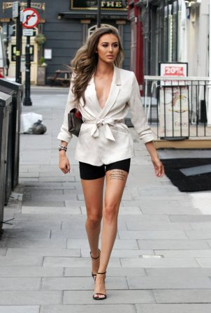 Chloe Veitch - Out in central London