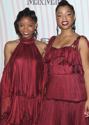 Chloe x Halle - 2018 Women In Film Crystal and Lucy Awards in Los Angeles
