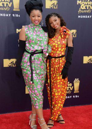 Chloe x Halle - MTV Movie and TV Awards 2018 in Santa Monica