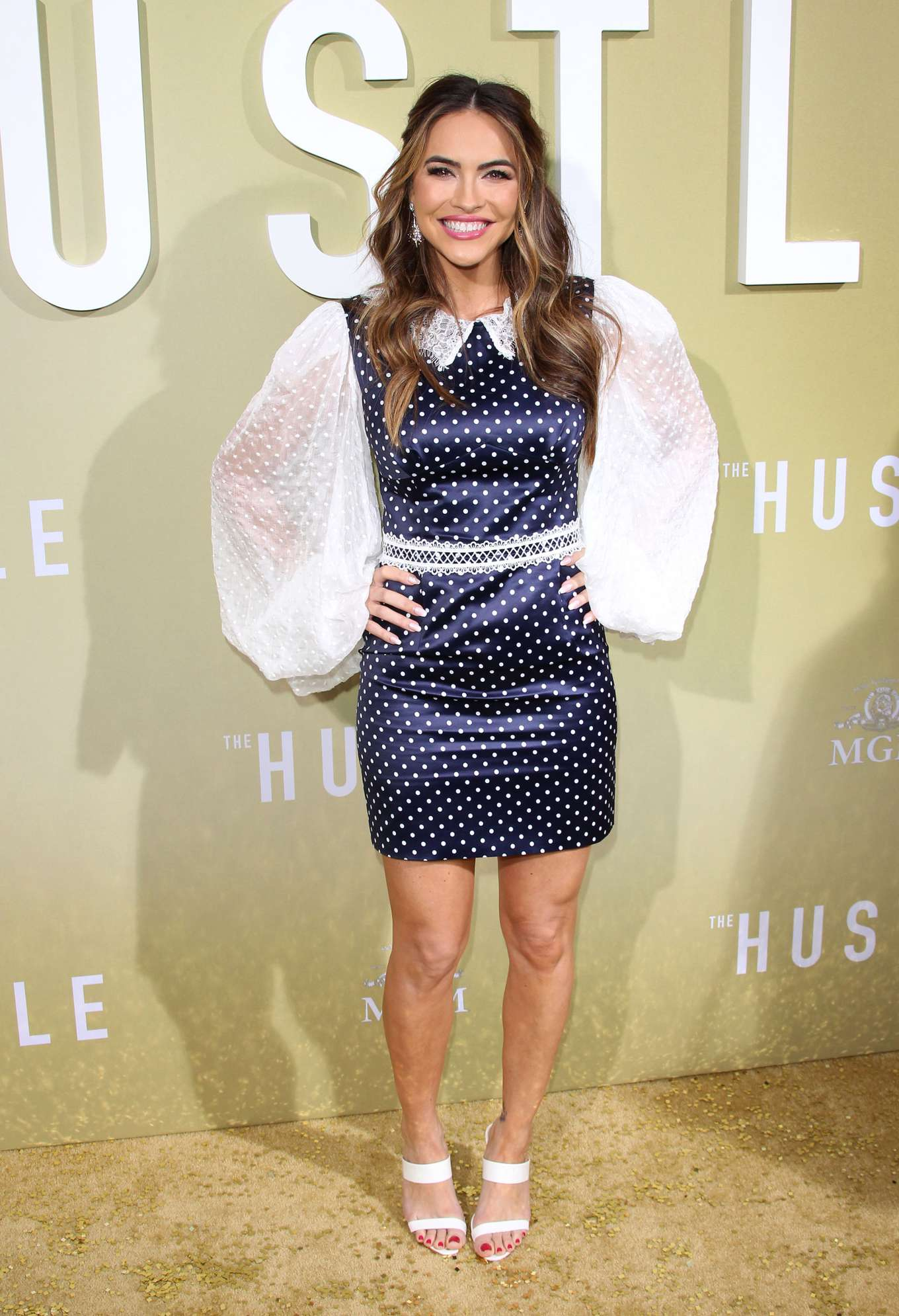 Chrishell Hartley - 'The Hustle' Premiere in Los Angeles